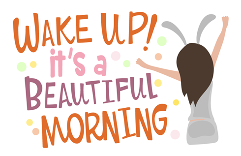 Morning Love stickers on Viber